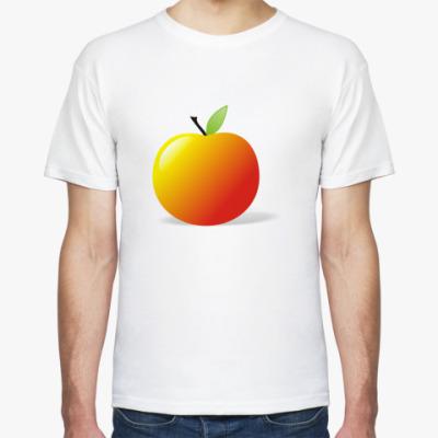 Футболка  яблочко