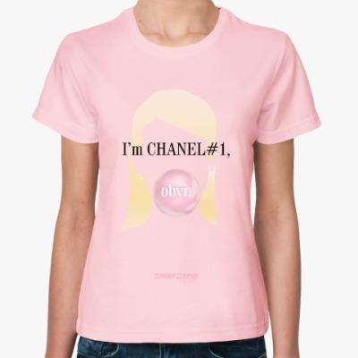 Женская футболка Channel#1 quotes. Scream Queens