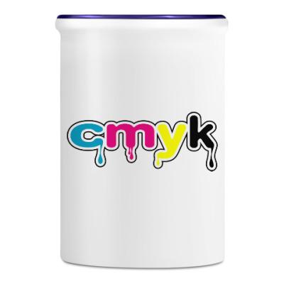 Подставка для ручек и карандашей CMYK