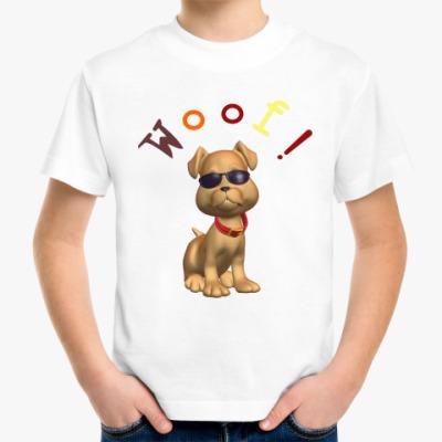 Детская футболка Woof