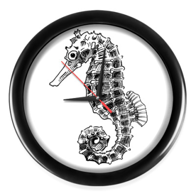 Настенные часы Морской Конек