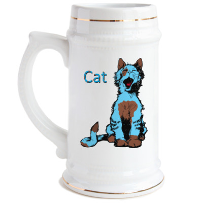 Пивная кружка CAT