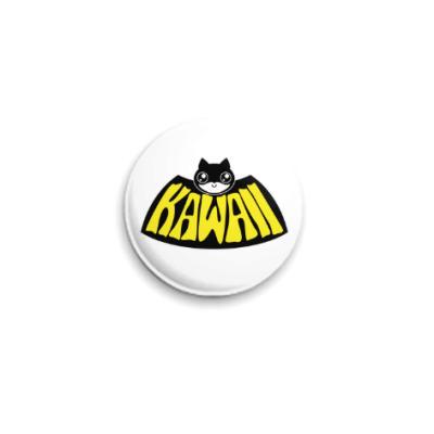 Значок 25мм Kawaii Batman