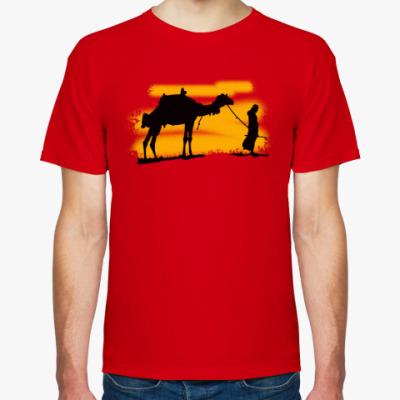 Футболка Бедуин с верблюдом