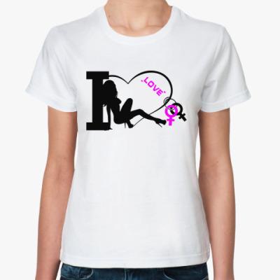 Классическая футболка Love