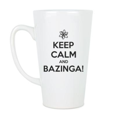 Чашка Латте BAZINGA!