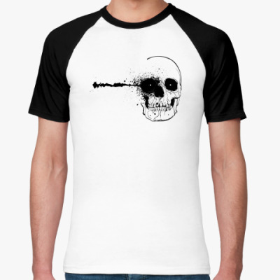 Футболка реглан   Skull