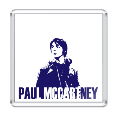 Магнит  Paul McCartney