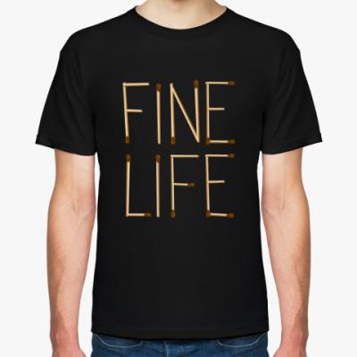 Футболка Fine Life