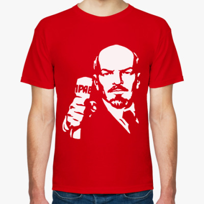 Футболка Ленин с Правдой
