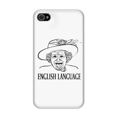 Чехол для iPhone 4/4s Английский язык