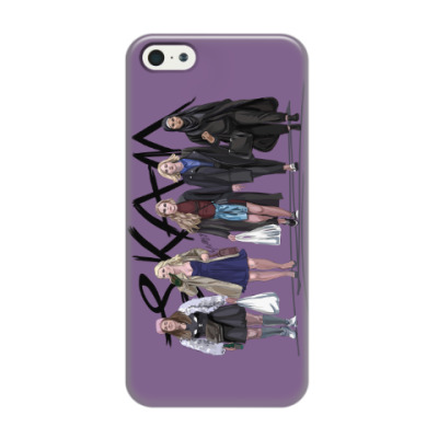 Чехол для iPhone 5/5s Who run the world? Girls! SKAM