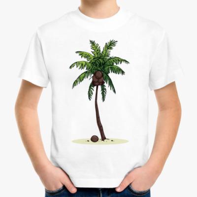 Детская футболка Кокосовая пальма