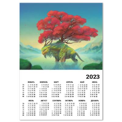 Календарь Хранитель озера