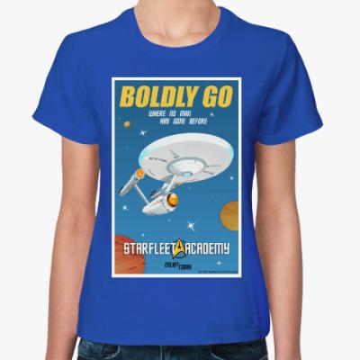 Женская футболка Star Trek Boldly Go