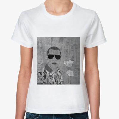 Классическая футболка  газета