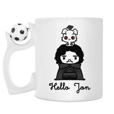 Кружка Hello Jon