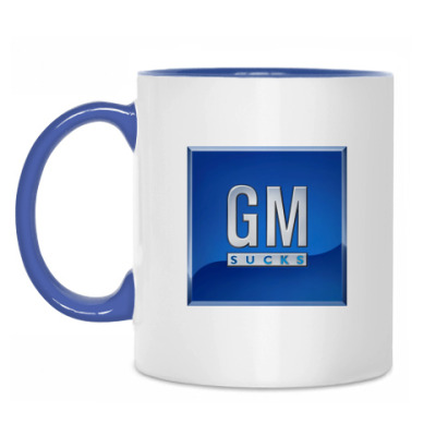 Кружка GM SUCKS