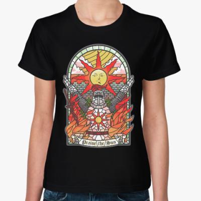 Женская футболка Dark Souls Praise the sun