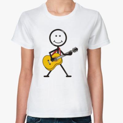 Классическая футболка Веселый арт. Юмор. Приколы.