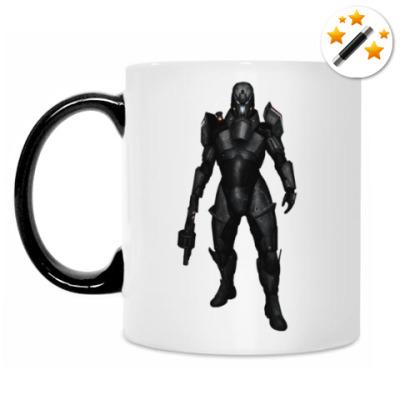 Кружка-хамелеон Mass Effect 3 Разрушитель N7