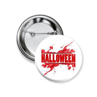 Значок 37мм Halloween