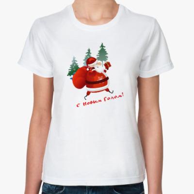 Классическая футболка Дед Moroz