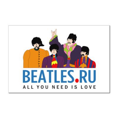Наклейка (стикер)  Beatles.ru