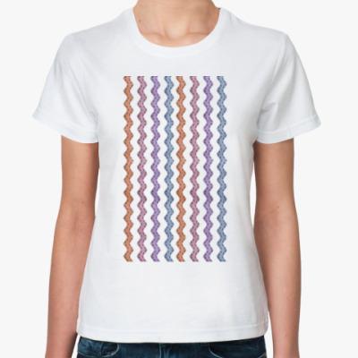 Классическая футболка Серпантиновый дождик
