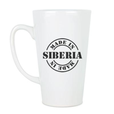 Чашка Латте Made in Siberia