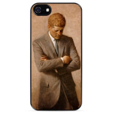 Чехол для iPhone Джон Кеннеди - Kennedy John