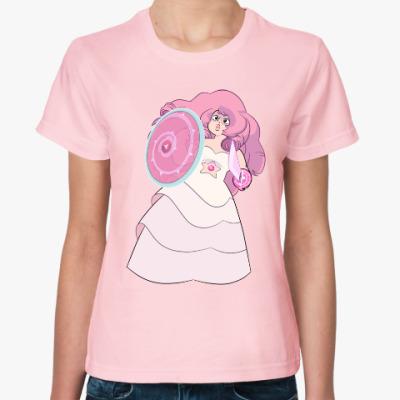 Женская футболка Steven Universe / Вселенная Стивена - Rose Quartz