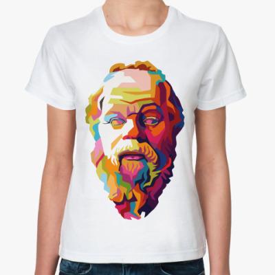 Классическая футболка Сократ