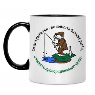 Кружка Смысл рыбалки