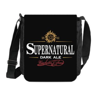 Сумка на плечо (мини-планшет) Supernatural - Темный эль