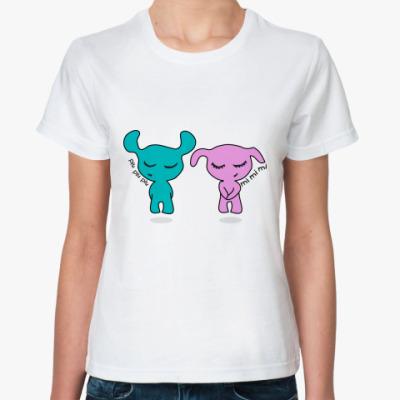 Классическая футболка Влюбленная пара