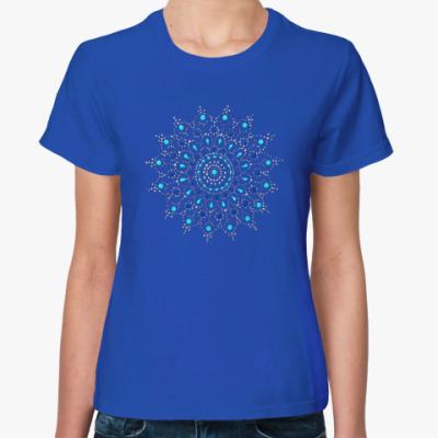 Женская футболка Мандала