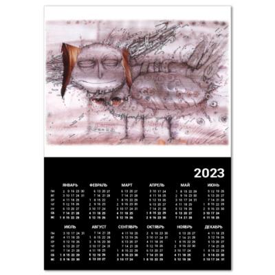 """Календарь  A3  """"Сирин"""""""