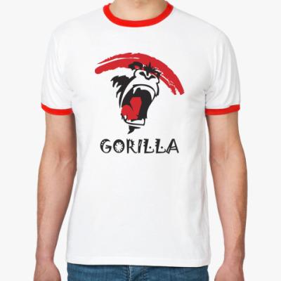 Футболка Ringer-T Gorilla