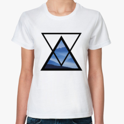 Классическая футболка Breathe in