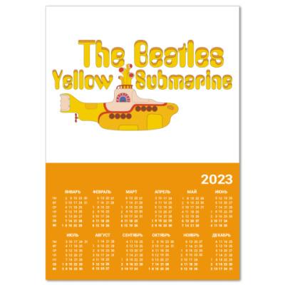 Календарь  Yellow Submarine