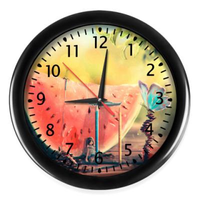 Настенные часы Часы Watermelon