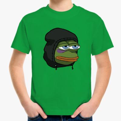 Детская футболка Лягушка Пепе