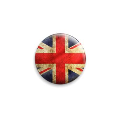 Значок 25мм Великобритания
