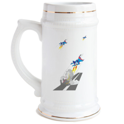 Пивная кружка Русские Витязи
