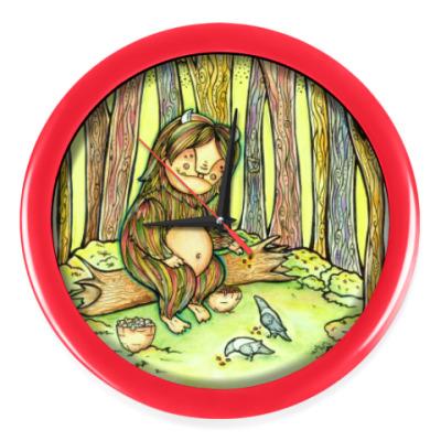Настенные часы Лесной тролль