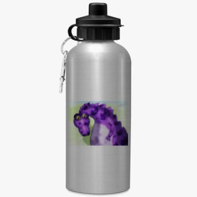 Спортивная бутылка/фляжка 'Космический дракон'