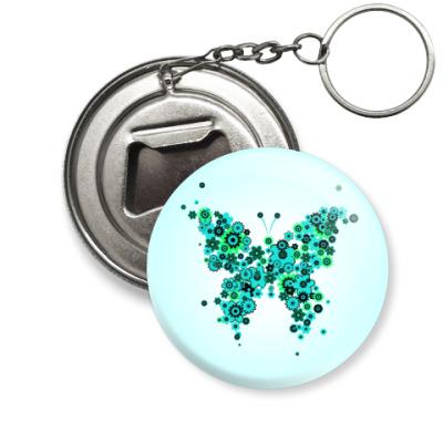 Брелок-открывашка   Бабочка