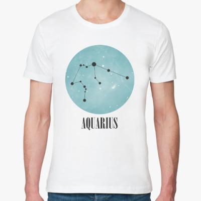 Футболка из органик-хлопка Знак зодиака Водолей