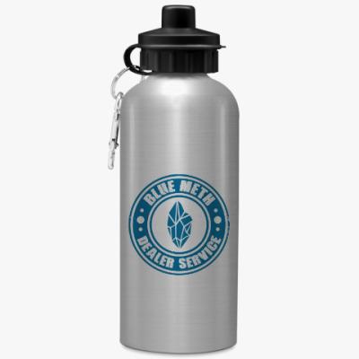 Спортивная бутылка/фляжка Blue Meth Dealer